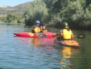 Private Kayak Class with Kim