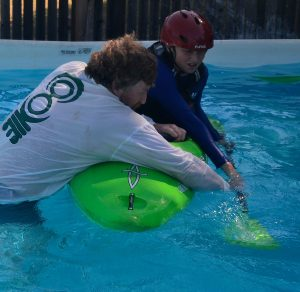 Learn the kayak roll with Dan Crandall