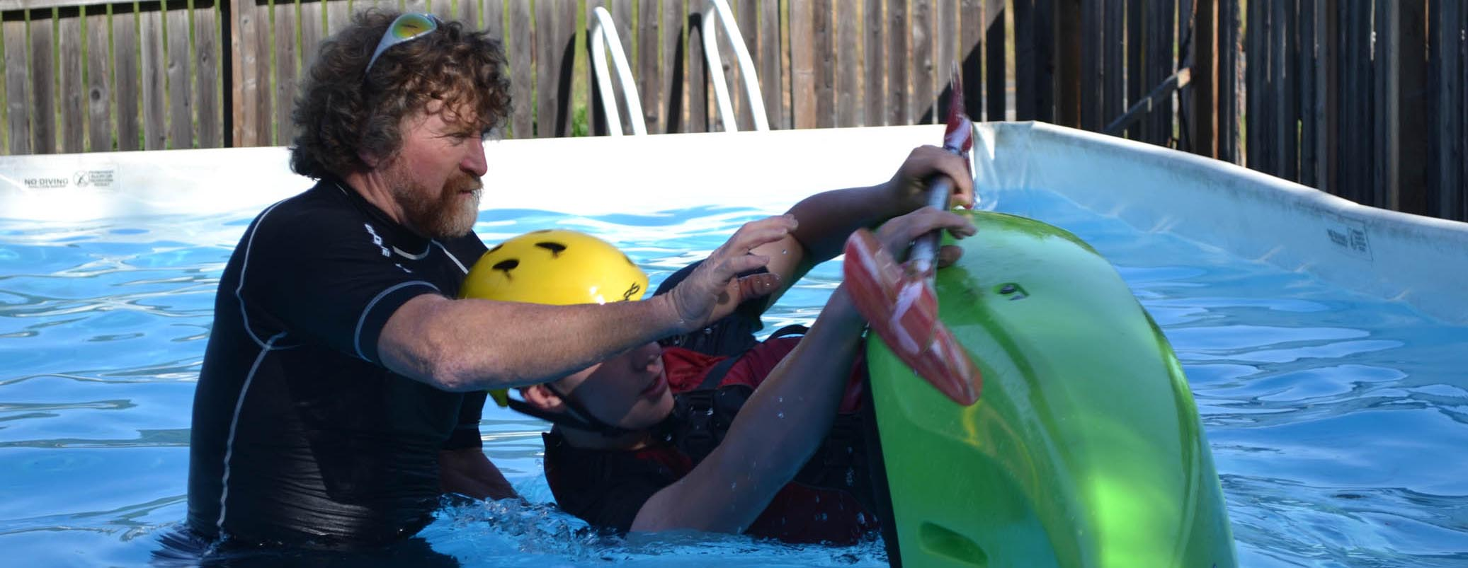 Kayak Roll Lessons with Dan Crandall