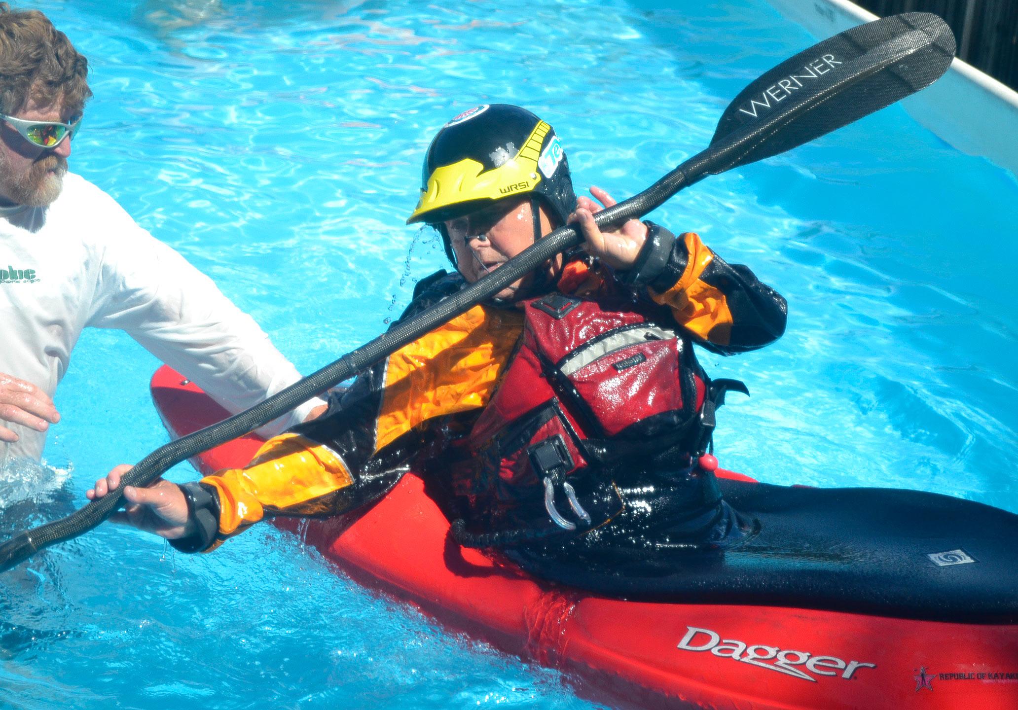 Kayak Roll Lessons with Dan Crandall