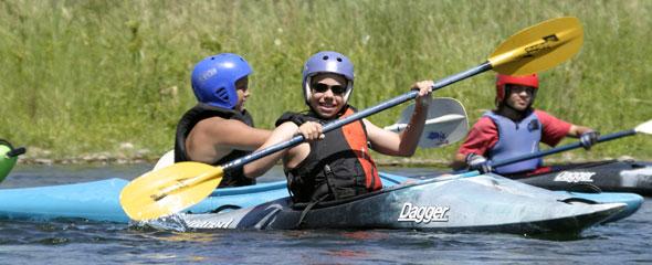 Kids and Teens Kayak Camp